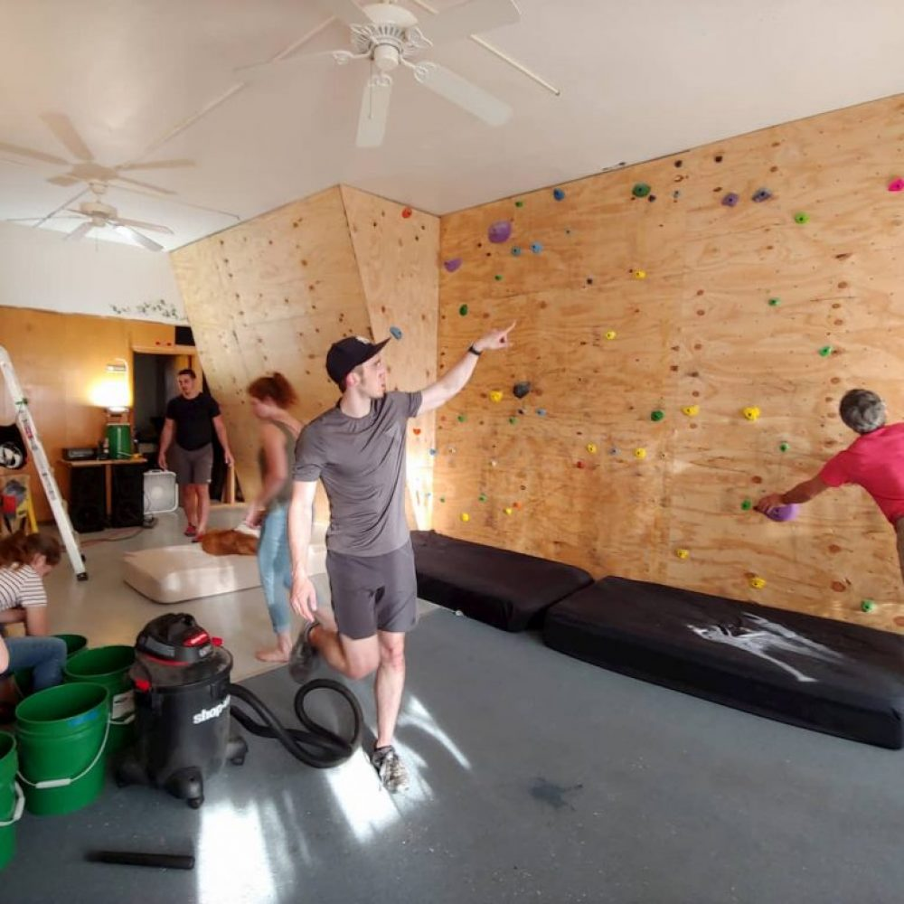 Climb Toledo's first community work day