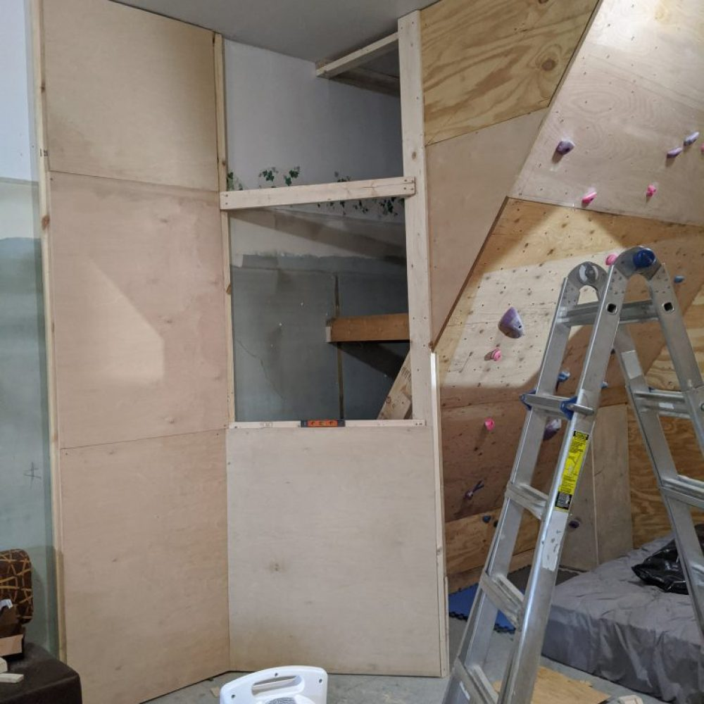 Building the chimney section